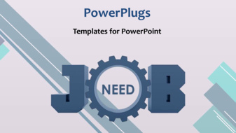 PowerPoint Template - Job concept